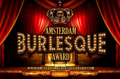 Don't miss the first Annual International Amsterdam Burlesque Award 2014