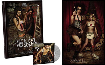 Xarah in the photobook Laugh, Cry and Scream by Heilemanie